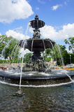 Tourny fountain in Quebec city Stock Images