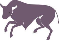 touro Foto de Stock Royalty Free