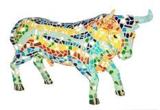 Touro da cerâmica Imagem de Stock Royalty Free
