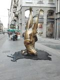 Touro de Milão imagem de stock