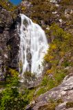 Touron waterfall in Melon, Ourense, Spain Stock Image