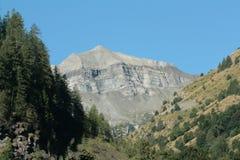tourond Франции alps пиковое Стоковая Фотография