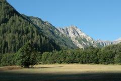tourond Франции alps пиковое Стоковые Фото