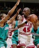 Touros de Michael Jordan Chicago imagens de stock