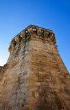 Tourreluque Tower (circa XIV c.). Aix-en-Provence, France. Tourreluque Tower (circa XIV c.), part of medieval town walls. Aix-en-Provence, France Stock Image