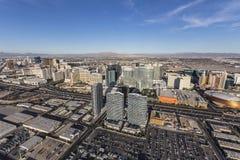 Tours aériennes et Iinterstate 15 de Las Vegas Image libre de droits