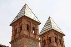 Tours au pueblo Espanol Photographie stock
