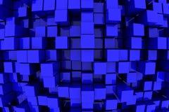 Tours bleues Photographie stock