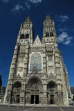 Tours Cathedral royalty free stock photos