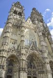 Tours Cathedral, France Royalty Free Stock Image