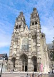 Tours cathedral Stock Photography