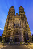 Tours Cathedral Stock Image