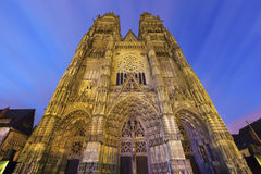 Tours Cathedral Royalty Free Stock Photo