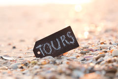 Tours concept Stock Photography