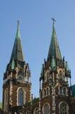 Tours d'église de St Elisabeth Image stock