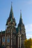 Tours d'église de St Elisabeth Photo stock