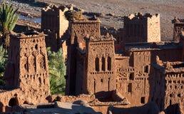 Tours d'Ait Ben Haddou, Maroc Photographie stock libre de droits
