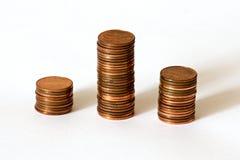 Tours d'argent Images stock