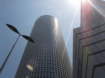 Tours d'Azrieli, Tel Aviv images stock