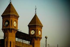 Tours d'horloge image libre de droits