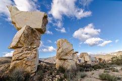 Tours de blocs de marbres Photo libre de droits