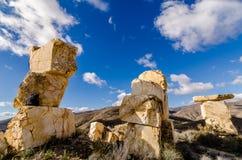 Tours de blocs de marbres Photographie stock libre de droits
