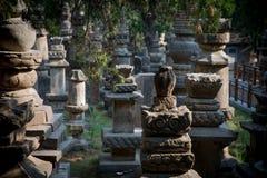 Tours de bouddhisme de dynastie de Tang et de chanson photographie stock libre de droits