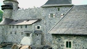 Tours de château de Heidenreichstein en Autriche banque de vidéos