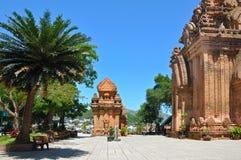 Tours de Cham de PO Nagar, Nha Trang. Photographie stock