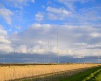 Tours de communication grandes ondes Goliath Appareil de radio pour Photographie stock