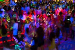 Tours de danse en jaune Photos libres de droits