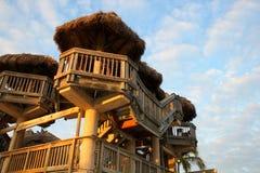 Tours de hutte de Tiki Photos stock