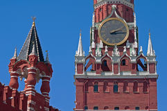 Tours de Kremlin Photos stock
