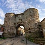 Tours de Landgate à Rye, East Sussex, Angleterre images stock