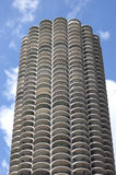 Tours de marina Chicago Images libres de droits