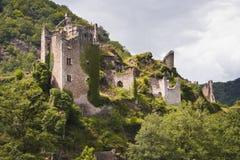 Tours de merle. The ruins of the Tours de Merle stock photo