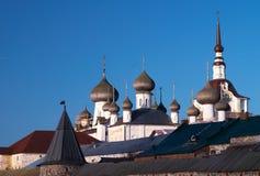 Tours de monastère de Solovetsky Photo libre de droits