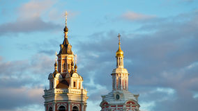 Tours de Moscou Photos stock