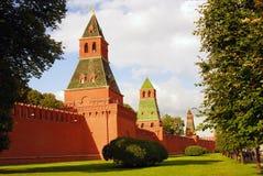 Tours de Moscou Kremlin Images stock
