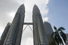 Tours de Petronas à Kuala Lumpur malaysia image libre de droits