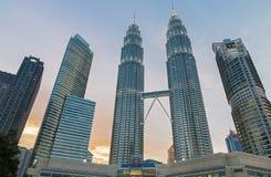 Tours de Petronas Photos libres de droits
