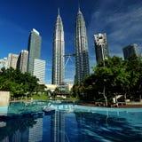 Tours de Petronas Images libres de droits