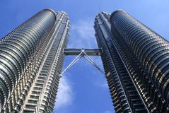 Tours de Petronas, Malaisie images stock