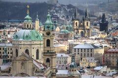 Tours de Prague Images libres de droits
