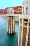 Tours de prise de l'Arizona de barrage de Hoover Image stock