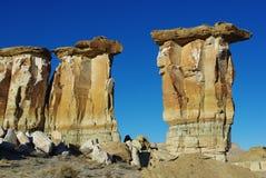 Tours de roche, Utah Photos stock