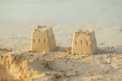 Tours de sable Images libres de droits