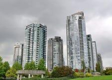 Tours de Vancouver Photographie stock libre de droits
