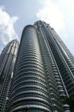 Tours jumelles à Kuala Lumpur Images libres de droits