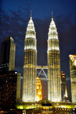 Tours jumelles de Kuala Lumpur Photographie stock
